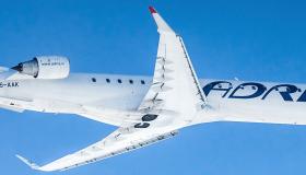 Adria Airways Airplane